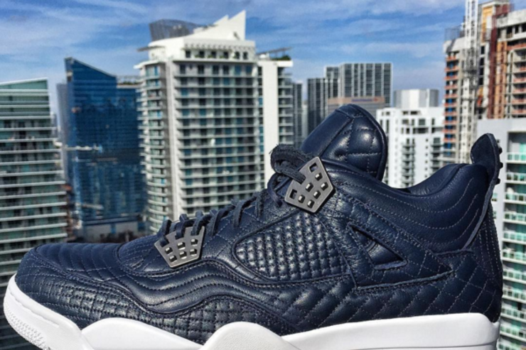 The Navy Air Jordan Pinnacle 4