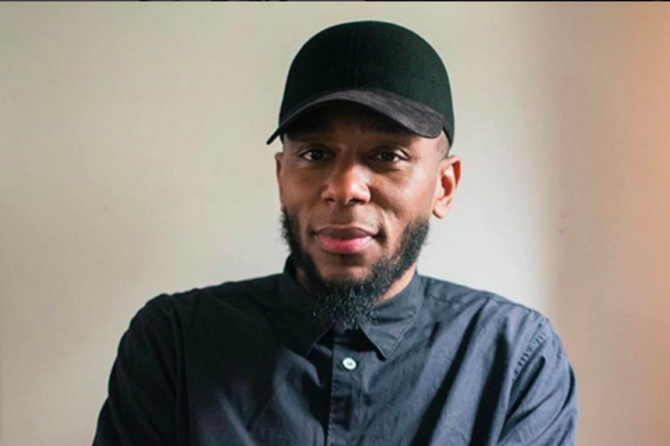 Yasiin Bey in a recent portrait.