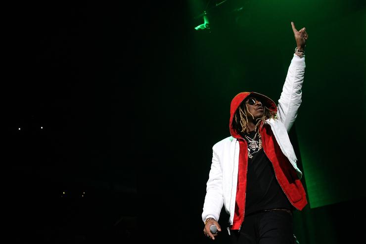 Future performs live.