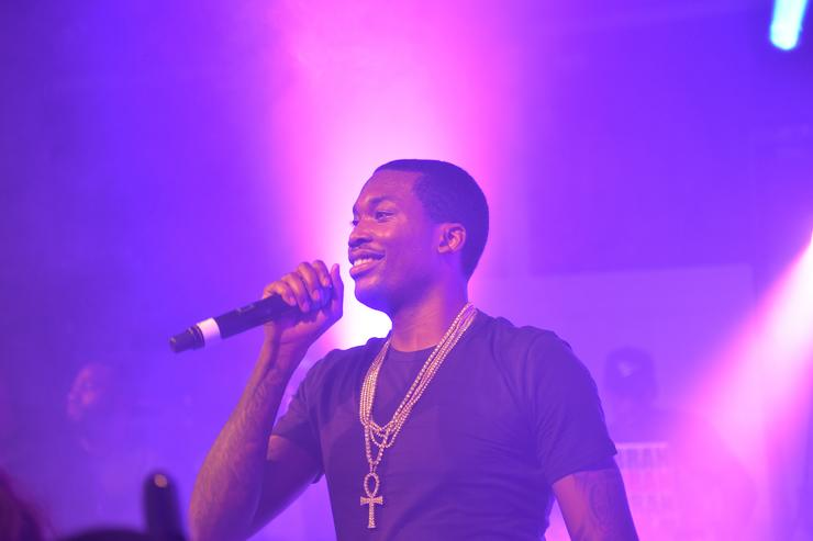 Meek Mill Bacardi House Party In Atlanta