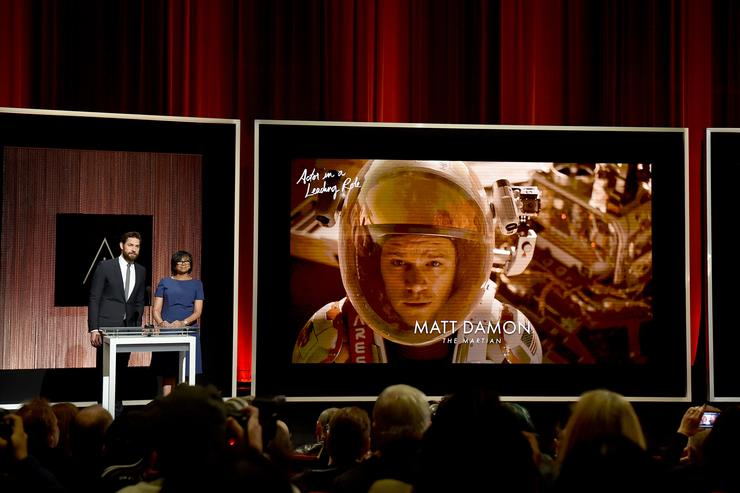 The 88th Annual Academy Awards Nominations.