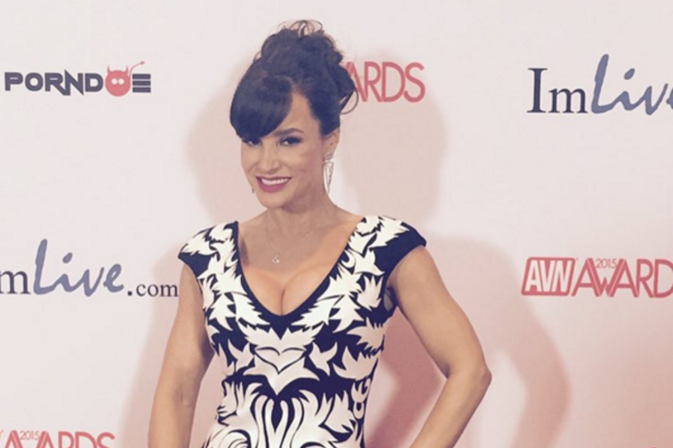Lisa Ann at the AVN Awards.