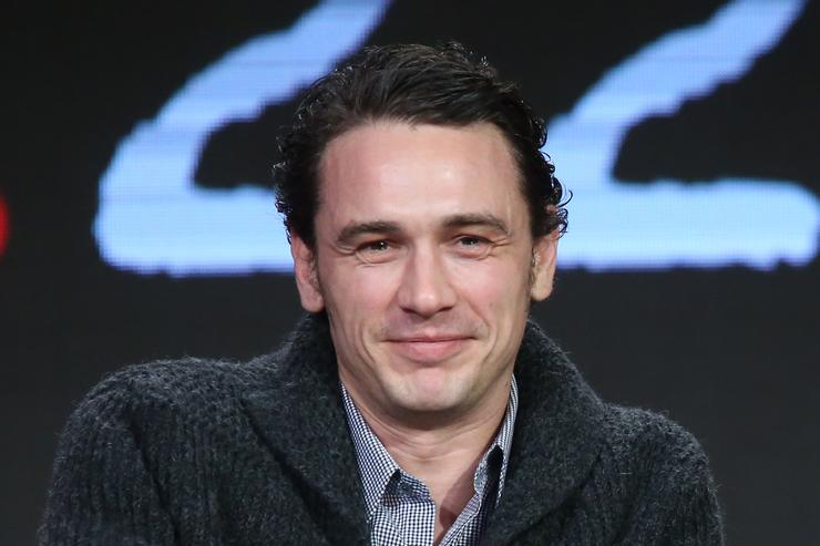 James Franco at the Winter TCA Tour.