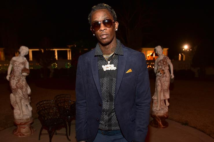 Young Thug attends Rick Ross Private Birthday