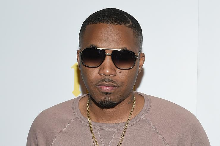 Nas attends the 'Nas: Time Is Illmatic' New York Premiere at Museum of Modern Art on September 30, 2014 in New York City
