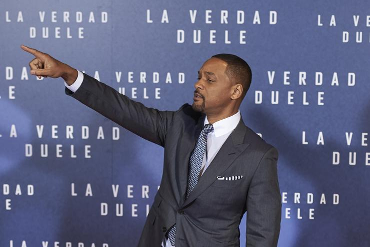 "Will Smith at the premiere of ""La Verdad Duele"""