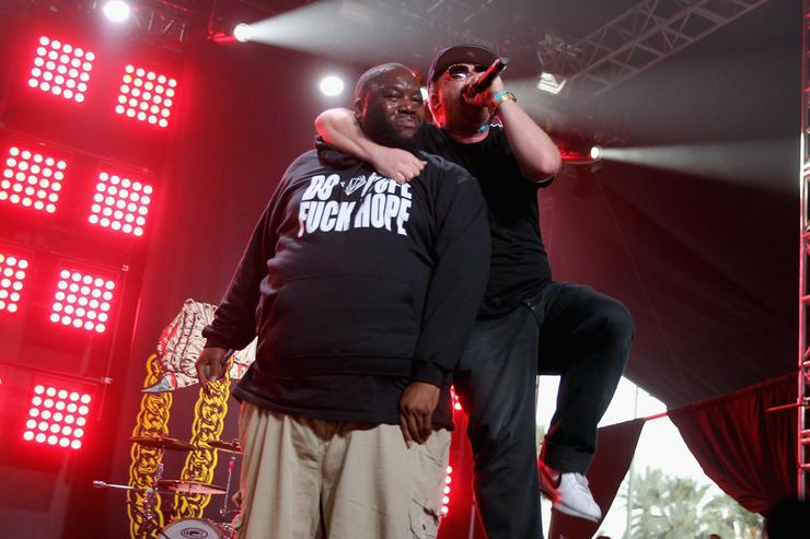 Killer Mike & El-P perform at Coachella.