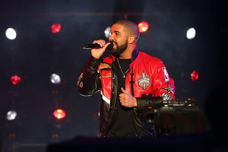 Drake at the NBA All Star game 2016
