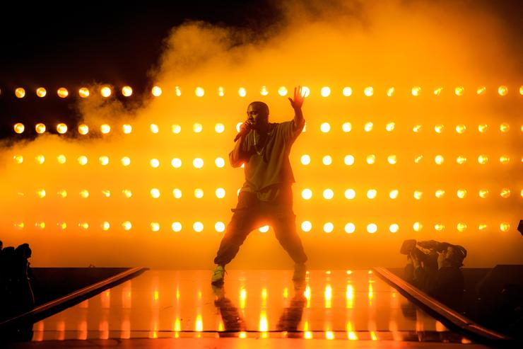 Kanye West performs 2015 iHeartRadio Music Festival - Night 1 - Show