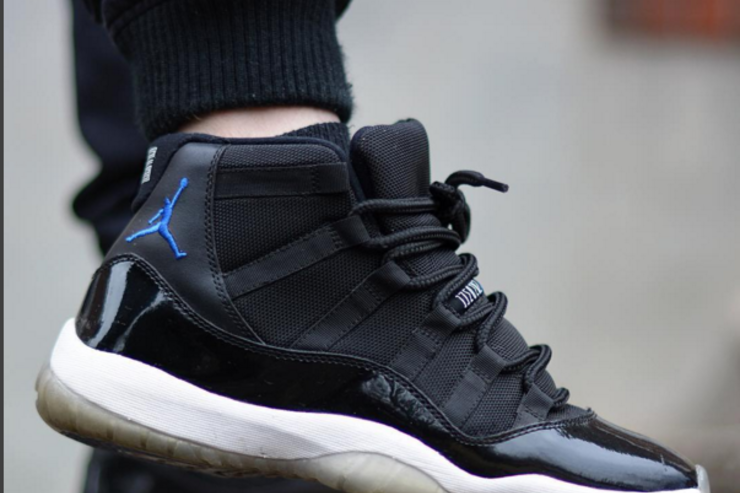 The 2009 Space Jam Air Jordan 11.