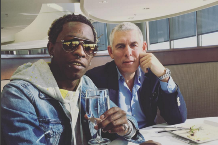 Young Thug & Lyor Cohen of 300ent.