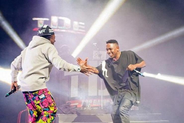Kendrick Lamar & Lil Wayne perform at Cali Christmas