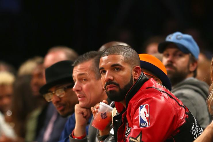 Drake at All-Star Weekend in Toronto.