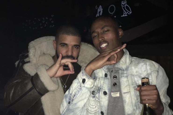 Mo-G & Drake in the club.
