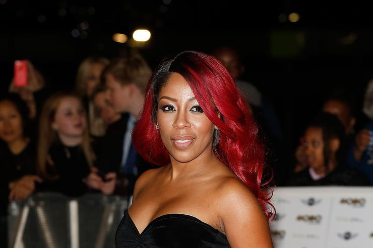K Michelle attends the MOBO Awards at SSE Arena on October 22, 2014 in London, England.