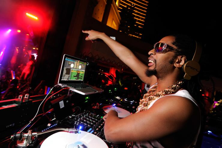 Recording artist Lil' Jon performs at the Tryst nightclub at Wynn Las Vegas on May 27, 2012 in Las Vegas, Nevada.