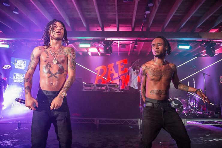 Rae Sremmurd performing at 2016 SXSW