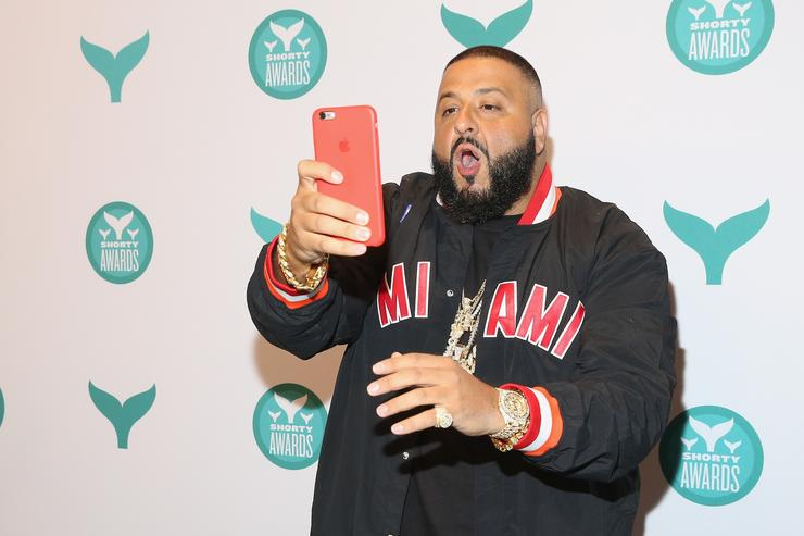 DJ Khaled at the Shorty Awards
