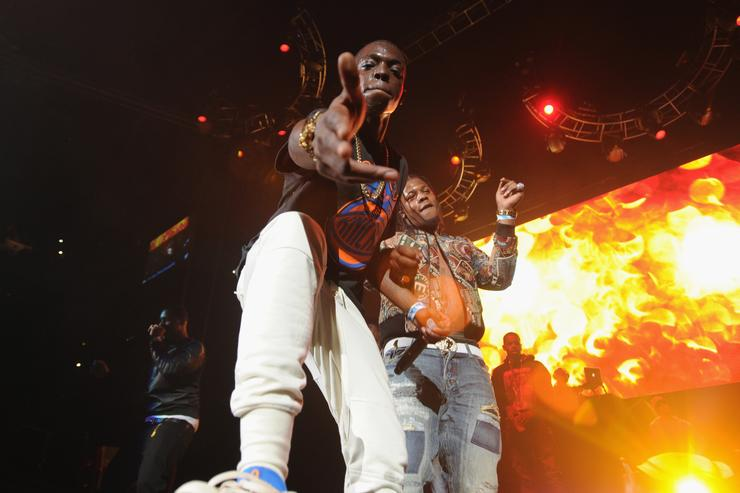 Bobby Shmurda performs at Powerhouse 2014