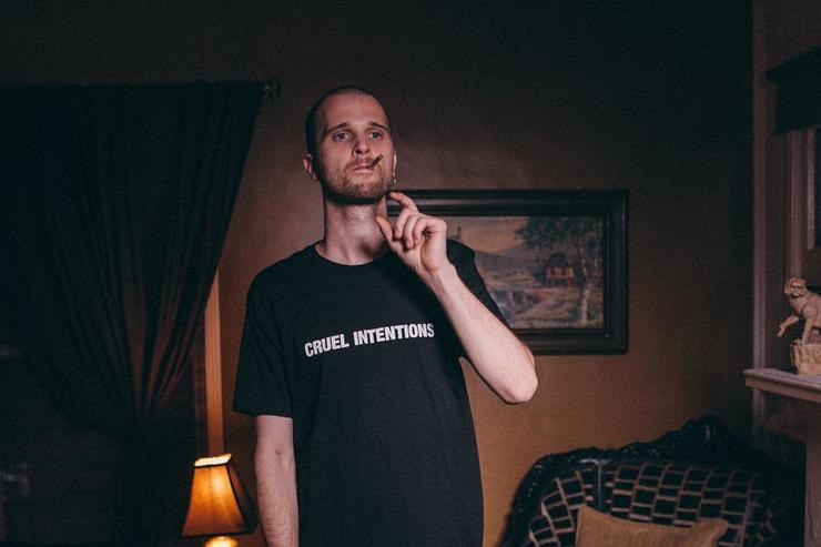 JMSN smoking a cigarette