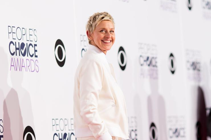 Ellen at the People's Choice Awards