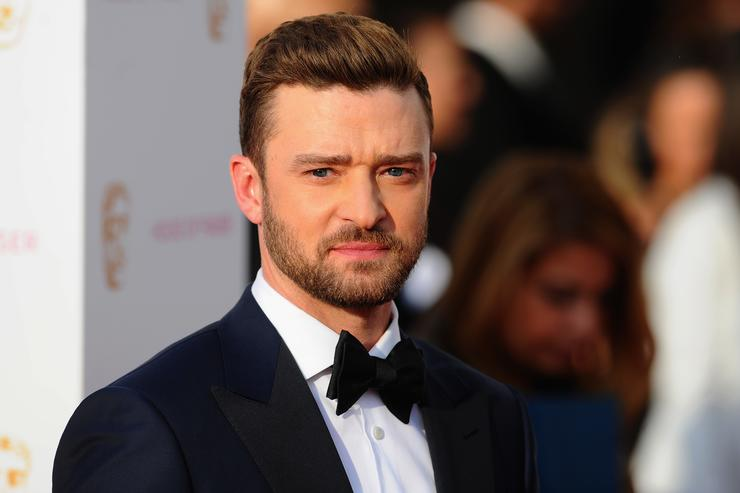 Justin Timberlake on the red carpet