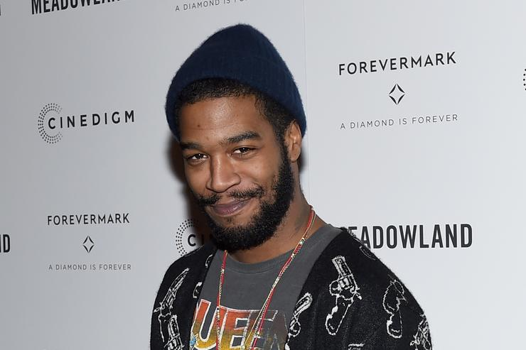Kid Cudi attends the 'Meadowland' New York Premiere at Sunshine Landmark on October 11, 2015 in New York City.