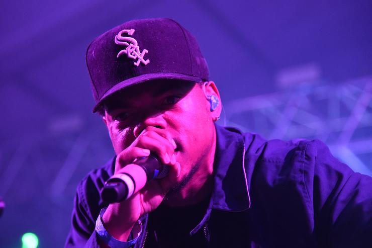 Chance The Rapper at Bonnaroo