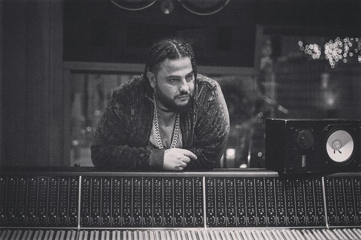 Belly in the studio