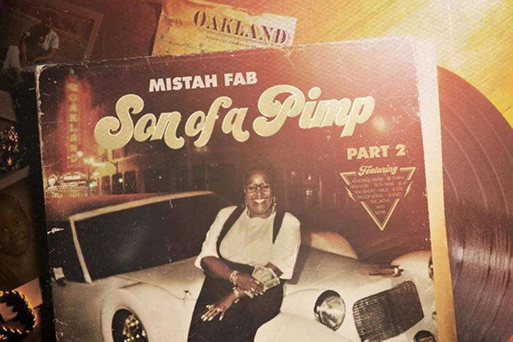 "Mistah FAB's ""Son Of A Pimp 2"" album cover"