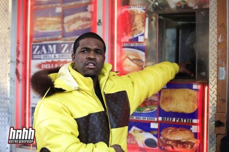 ASAP Ferg at a bodega in NYC