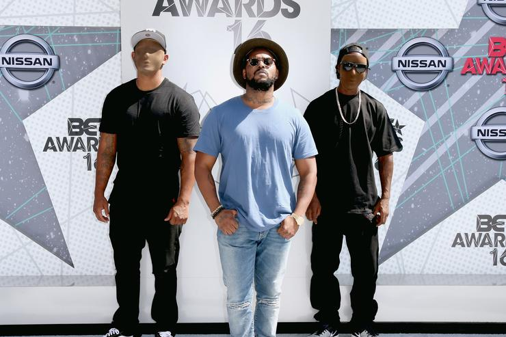 ScHoolboy Q at the BET Awards 2016
