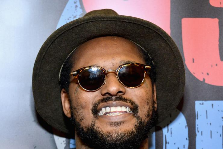 schoolboy q at the 2016 bet awards