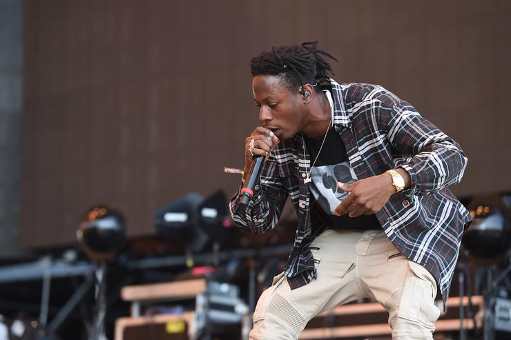 Joey Bada$$ at Coachella