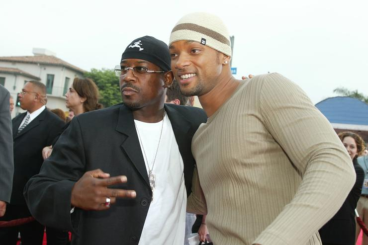 Will Smith and Martin Lawrence at Bad Boys 2 premiere