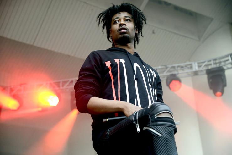 Danny Brown performing at Lollapalooza