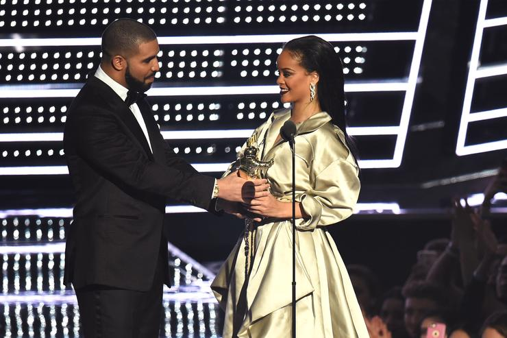 Drake and Rihanna at the MTV VMAs