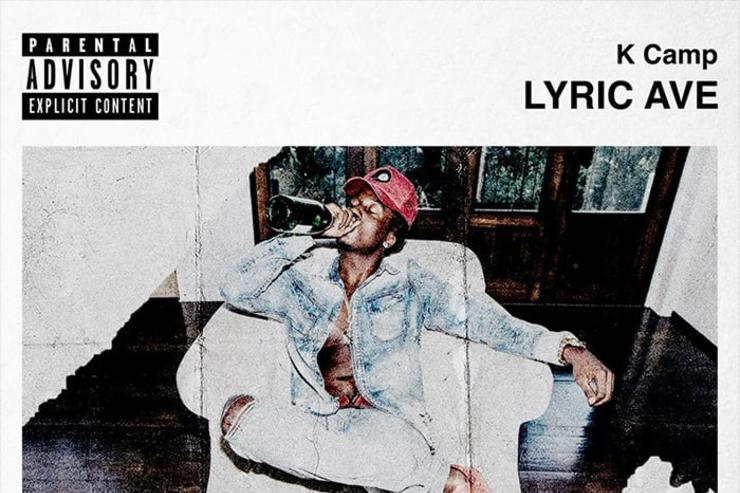 "K Camp ""Lyric Ave"" EP cover"