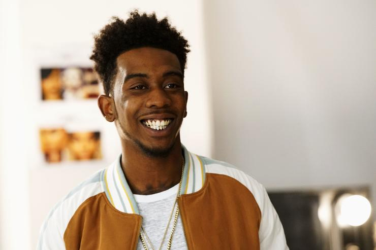 Desiigner at a BET Event