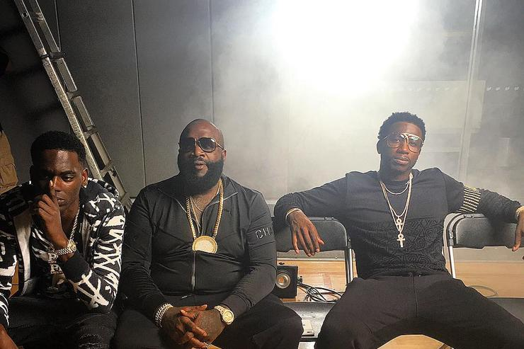 Gucci Mane x Rick Ross x Young Dolph