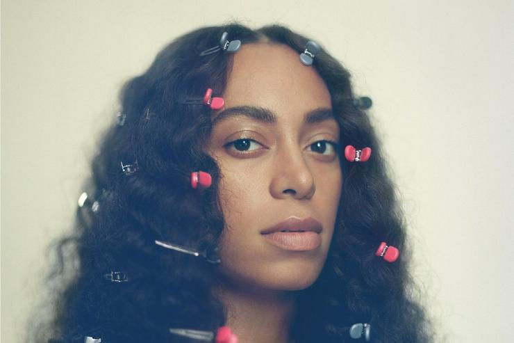 "Solange ""A Seat At The Table"" album cover"