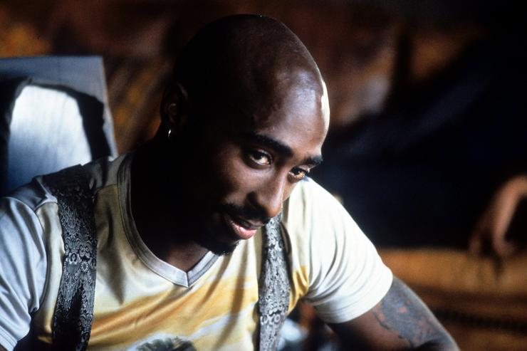 Tupac on Gridlock'd set