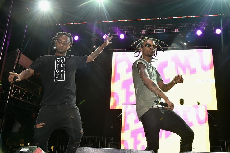 Rae Sremmurd at Billboard Hot 100 festival