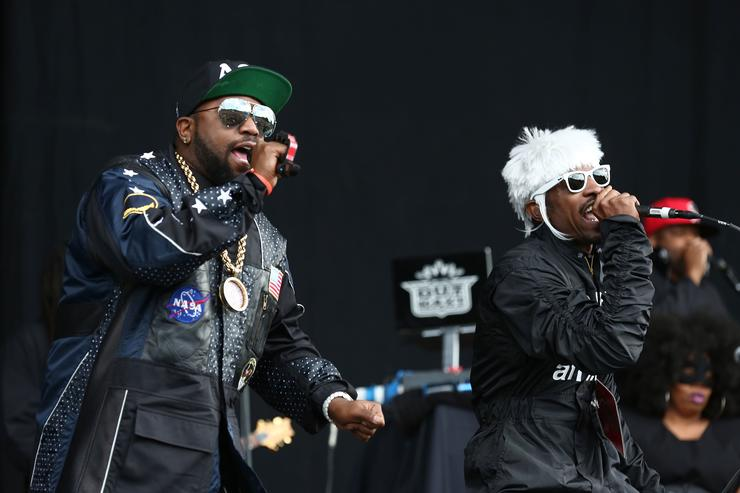 OutKast at Wireless Festival 2014