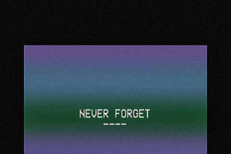 "TYus' album cover for ""Never Forget"""