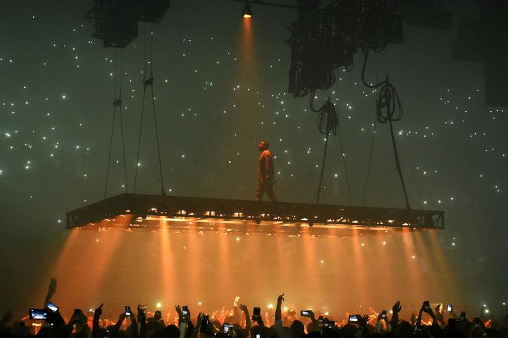 Kanye West Saint Pablo tour at The Forum