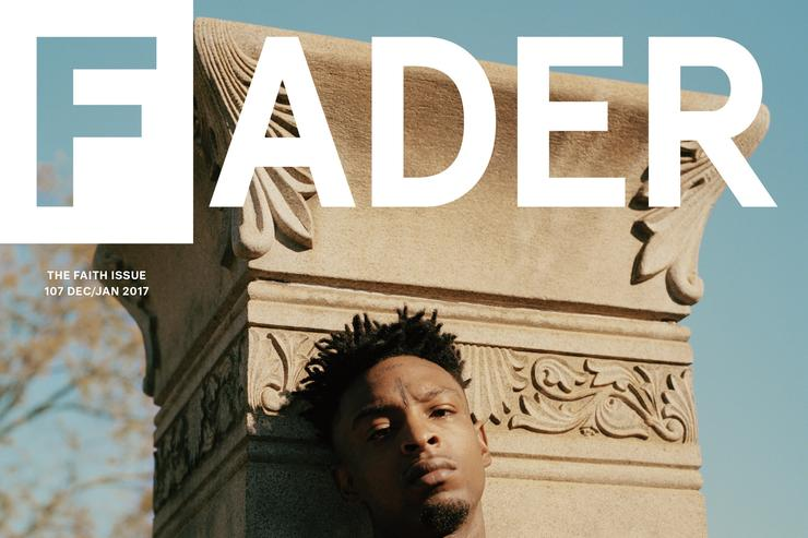 21 Savage Fader cover