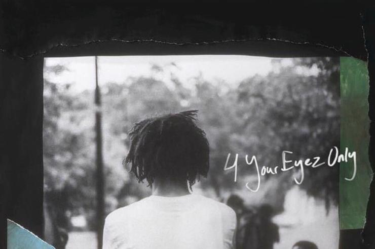 "album cover for J. Cole's ""4 Your Eyez Only"""