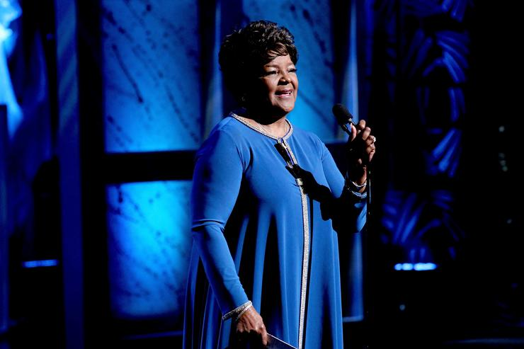 Pastor Shirley Caesar is honored is honored at the NMAAM 2016 Black Music Honors on August 18, 2016 in Nashville, Tennessee.