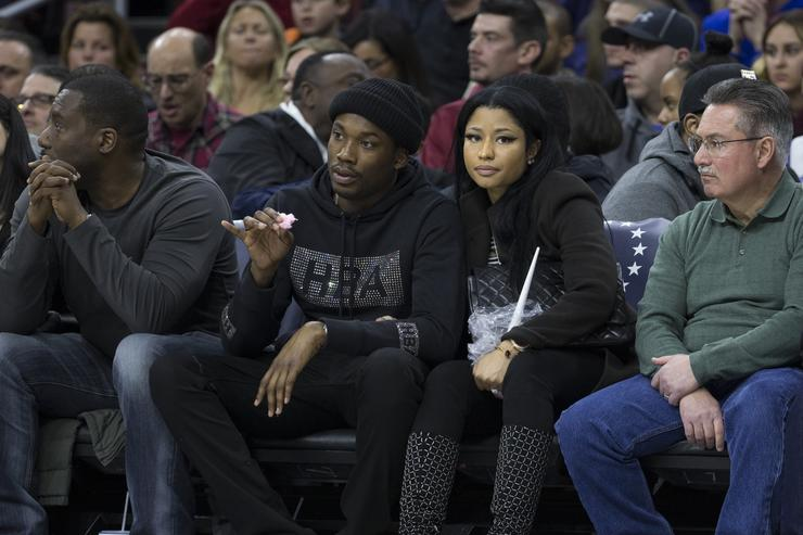 Meek mill and nicki minaj dating since
